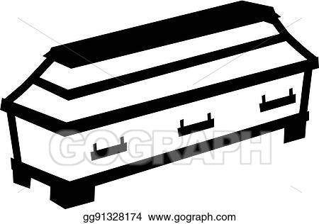 clip art vector casket symbol stock eps gg91328174 gograph rh gograph com coffin images clip art open coffin clipart