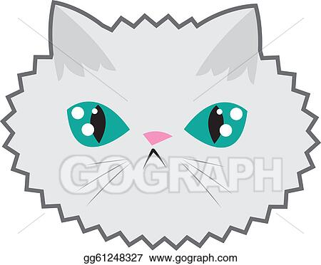 Cat Face Clip Art Royalty Free Gograph