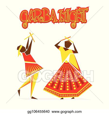 Dance Clipart Dandiya - Garba Png , Free Transparent Clipart - ClipartKey
