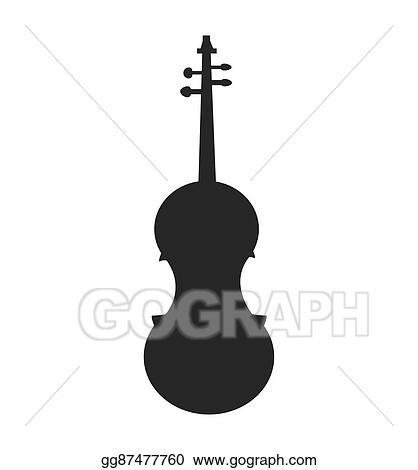 Vector Art Cello Instrument Music Melody Icon Vector