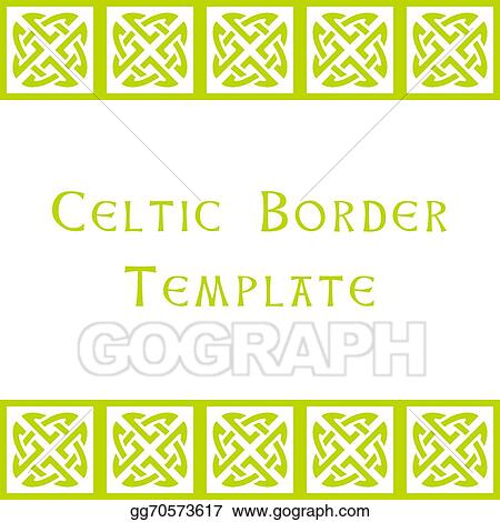 Vector stock celtic border template stock clip art gg70573617 vector stock celtic border template stock clip art gg70573617 yadclub Images