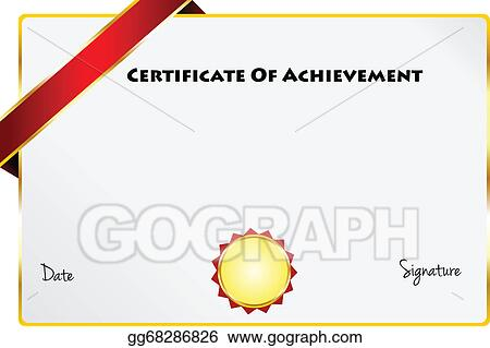 certificate of achievement diploma