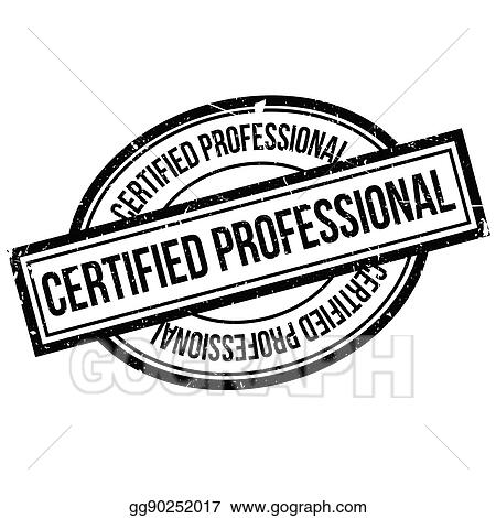 Certified Professional Rubber Stamp