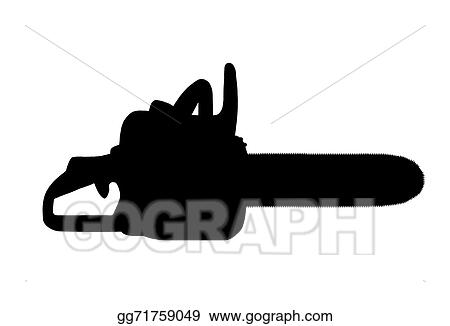 Drawing Clip Art Chain Saw
