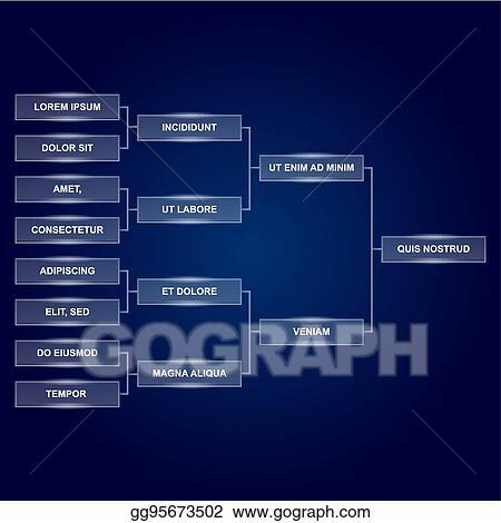 Scoreboard Template | Vector Illustration Champions Final Scoreboard Template On Dark
