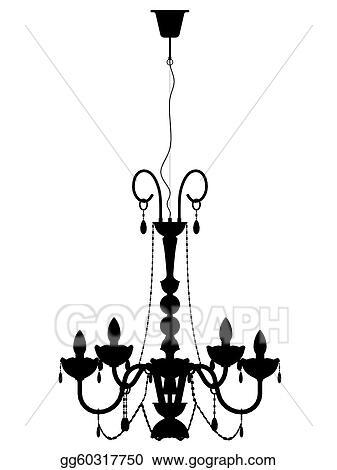 Stock illustration chandelier outline silhouette clipart stock illustration chandelier outline silhouette clipart illustrations gg60317750 mozeypictures Choice Image
