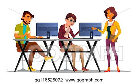Employees Working Stock Illustrations – 3,320 Employees Working Stock  Illustrations, Vectors & Clipart - Dreamstime