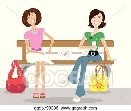 Cartoon Character Of Women Gossiping, Women Talking, Women Chatting,..  Royalty Free Cliparts, Vectors, And Stock Illustration. Image 55648129.