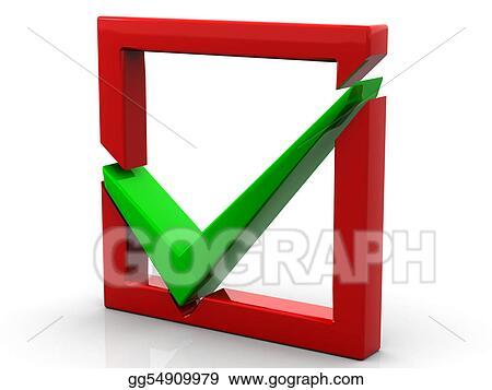 stock illustration checkbox clipart drawing gg54909979 gograph rh gograph com checked box clip art free clipart check box