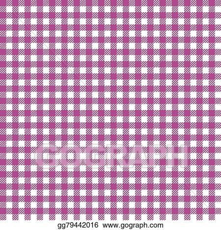 vector art checkered table cloth background eps clipart