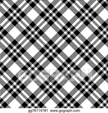 Checkered Tablecloths Pattern Black   Endless