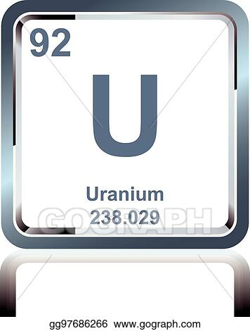 Eps illustration chemical element uranium from the periodic table chemical element uranium from the periodic table urtaz Choice Image