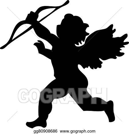 vector clipart cherub vector illustration gg80908686 gograph rh gograph com cherub clipart black and white cherub angel clipart