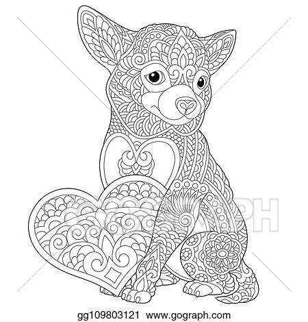 Valentines Day Coloring Pages Dogs Photo Album ...