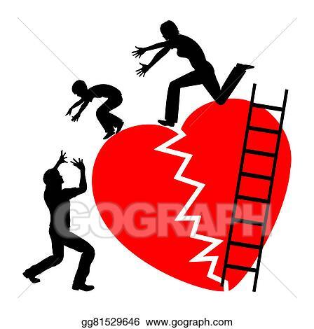 stock illustration child of divorce clipart gg81529646 gograph rh gograph com funny divorce clip art divorce clip art