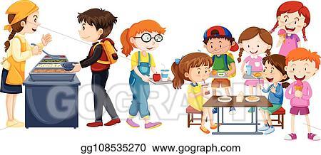 Transparent Breakfast Clipart Png - Kids Eating Clipart, Png Download ,  Transparent Png Image - PNGitem
