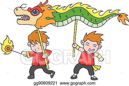 chinese new year festival dragon dance