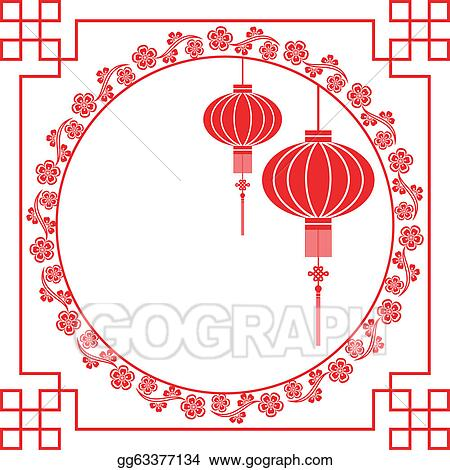 Vector Stock - Chinese new year greeting card. Stock Clip Art ...