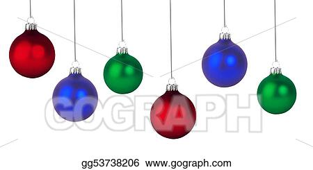 Drawing Christmas Ball Ornaments Clipart Drawing Gg53738206 Gograph