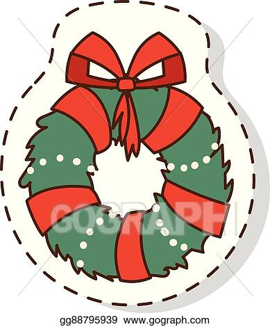 Christmas Branch Vector.Vector Illustration Christmas Branch Vector Illustration