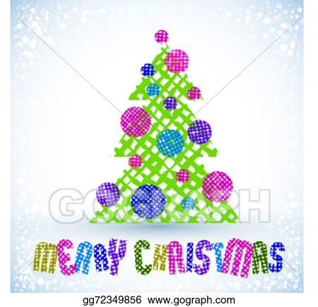 Vector illustration christmas greeting card with special font and christmas greeting card with special font and hand drawn lines t m4hsunfo