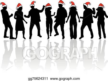 christmas party - Christmas Party Clipart