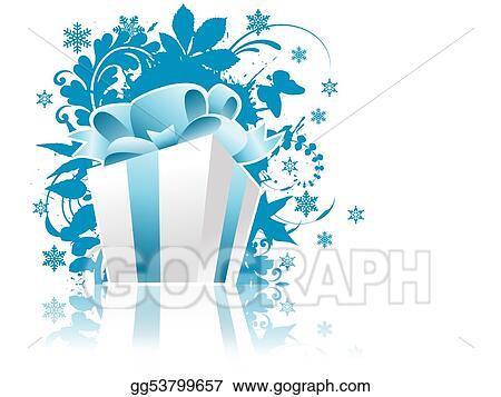 Christmas Present Drawings.Drawings Christmas Present Box Stock Illustration