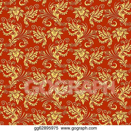 Christmas Texture.Vector Stock Christmas Red Paper Wrapping Background