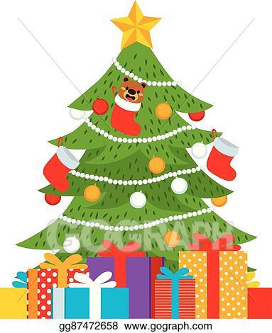 Eps Vector Christmas Tree Presents Stock Clipart Illustration Gg87472658 Gograph 660x660 clip art christmas tree vector illustration marry chrismis. https www gograph com clipart license summary gg87472658