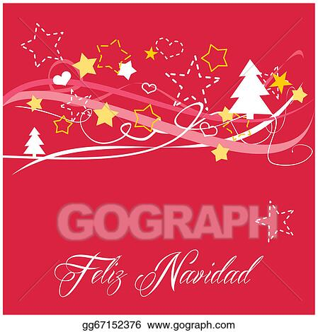Vector Clipart Christmas Vector Card Or Invitation Vector