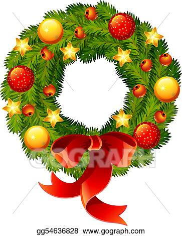 Christmas Wreath Clip Art Royalty Free Gograph