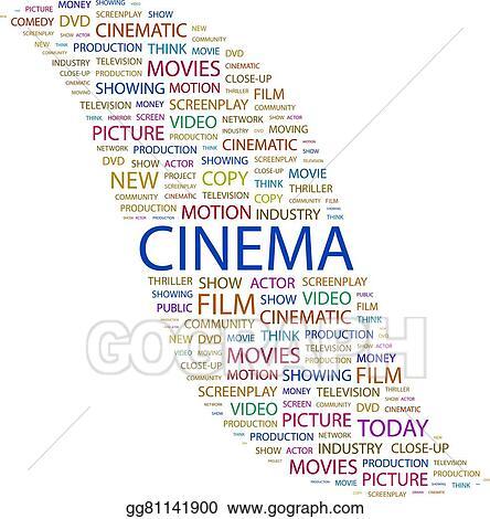 Vector Art Cinema Eps Clipart Gg81141900 Gograph