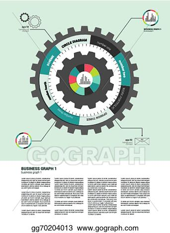 Vector art circle flat infographic diagram clipart drawing circle flat infographic diagram ccuart Images
