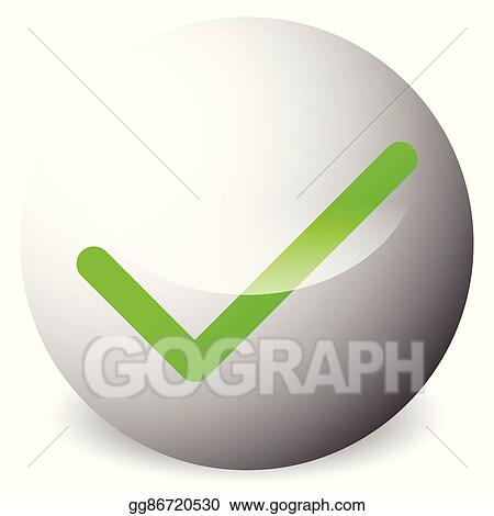 EPS Vector - Circle with tick, check mark symbol  approve