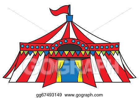 vector stock circus tent stock clip art gg67493149 gograph rh gograph com circus tent clipart black and white circus tent clipart