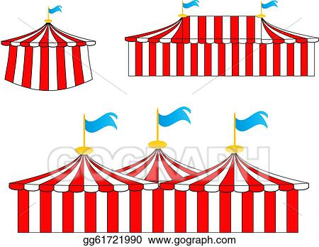clip art vector circus tents stock eps gg61721990 gograph rh gograph com circus tent clipart free circus tent top clipart