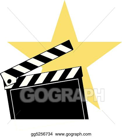 eps illustration clapboard vector clipart gg5256734 gograph rh gograph com