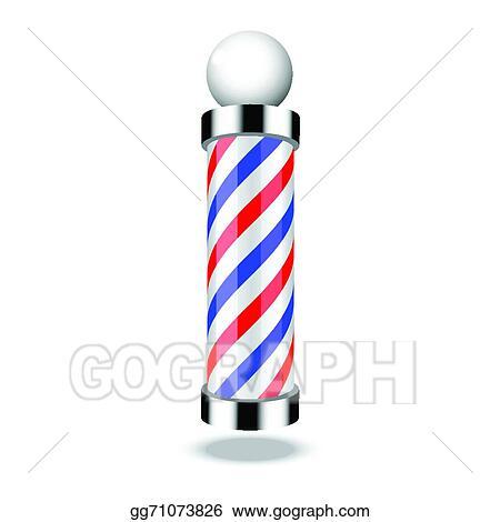 vector stock classic barber shop pole stock clip art gg71073826 rh gograph com