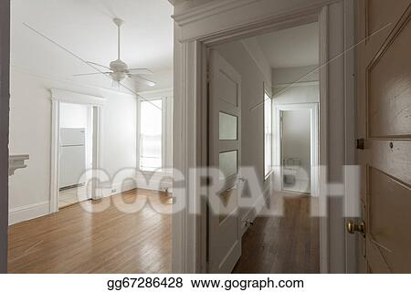 stock images clean empty studio apartment room stock photography
