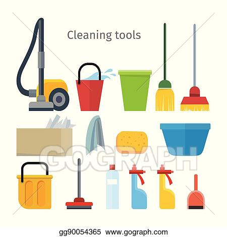 Cleaning Tools Isolated House Washing Equipment