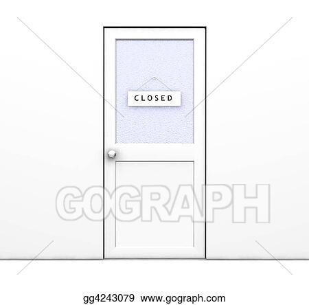 closed door drawing. Exellent Door Closed Door In Door Drawing
