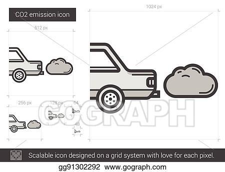 Air Pollution Drawing Clip Art - Carbon Dioxide - Creative Car Transparent  PNG