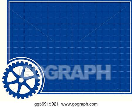 Vector stock cog and blueprint background clipart illustration vector stock cog and blueprint background clipart illustration gg56915921 malvernweather Choice Image