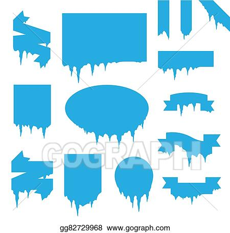 vector art collection of frozen icicle snow winter vector banner rh gograph com winter vector images winter vector images