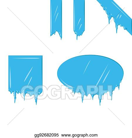 vector illustration collection of frozen icicle snow winter vector rh gograph com winter vector art winter vector free