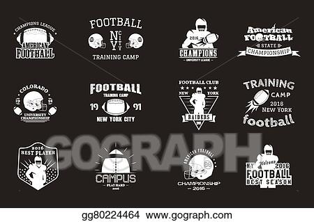 picture regarding Printable College Logos named Vector Inventory - School rugby and american soccer personnel