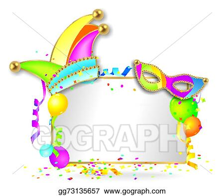vector stock colorful carnival background clipart illustration