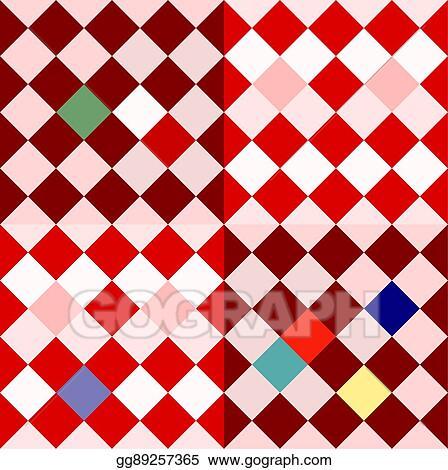 7ce4de2e7 Vector Stock - Colorful oblique checkerboard. Stock Clip Art ...