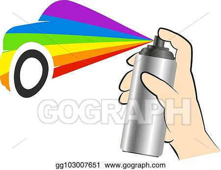 Illustration Vectorielle Coloriage Vaporisation Dans