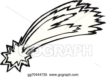 vector art comet clipart drawing gg70444735 gograph rh gograph com commit clip art comet images clip art